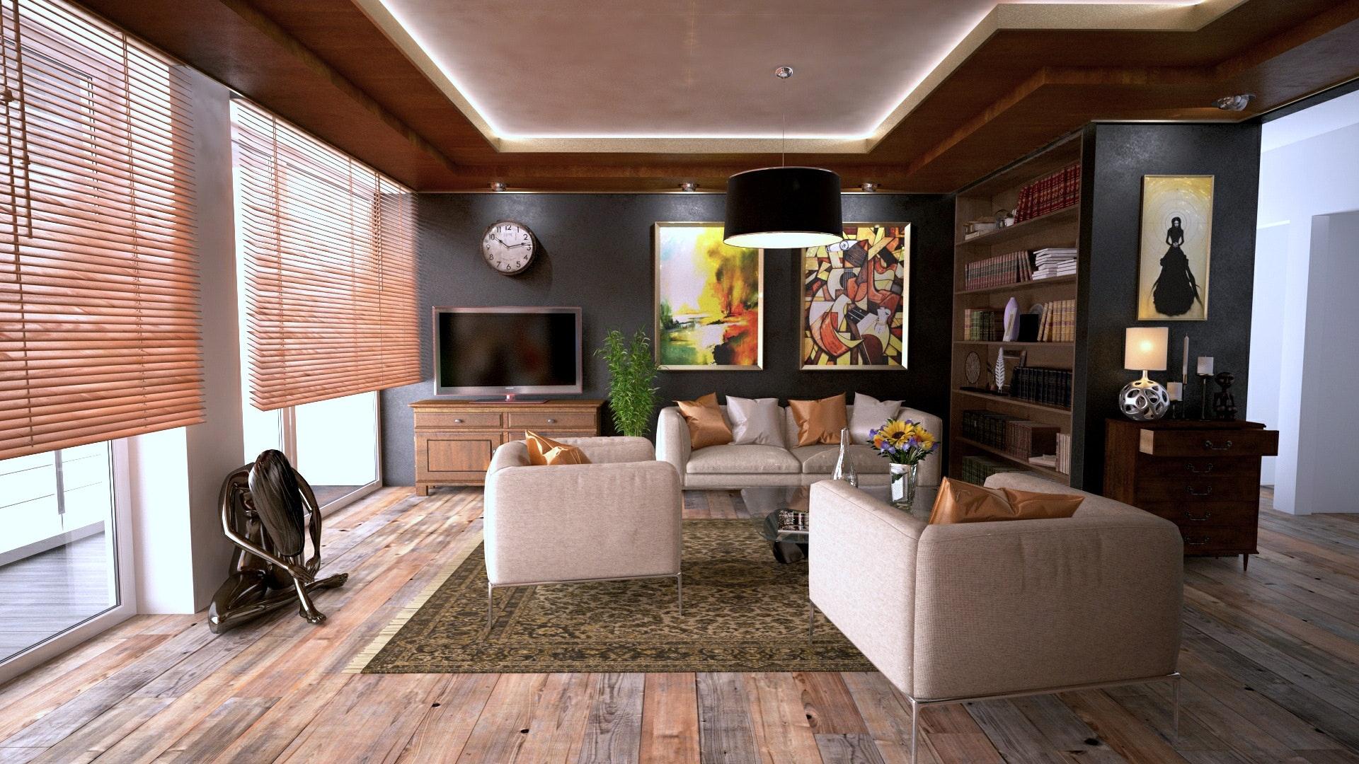 House Tour : A Glamorous Studio Apartment With Gorgeous Custom Details